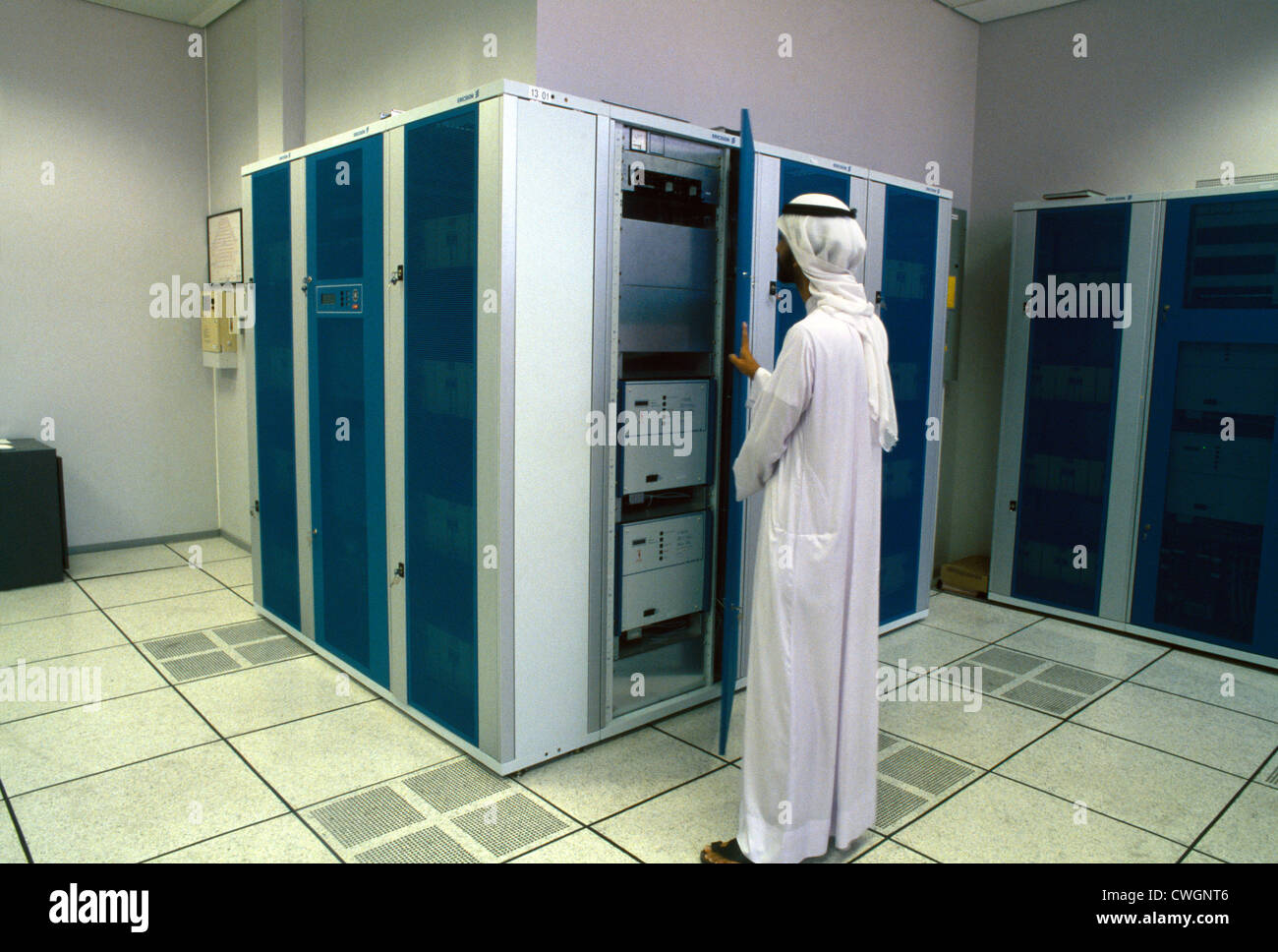 Dubai UAE Etisilat Digital Telephone Exchange Us System