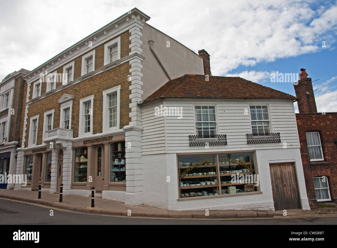 Ironmonger's extraordinary shop, Rye - Stock Image