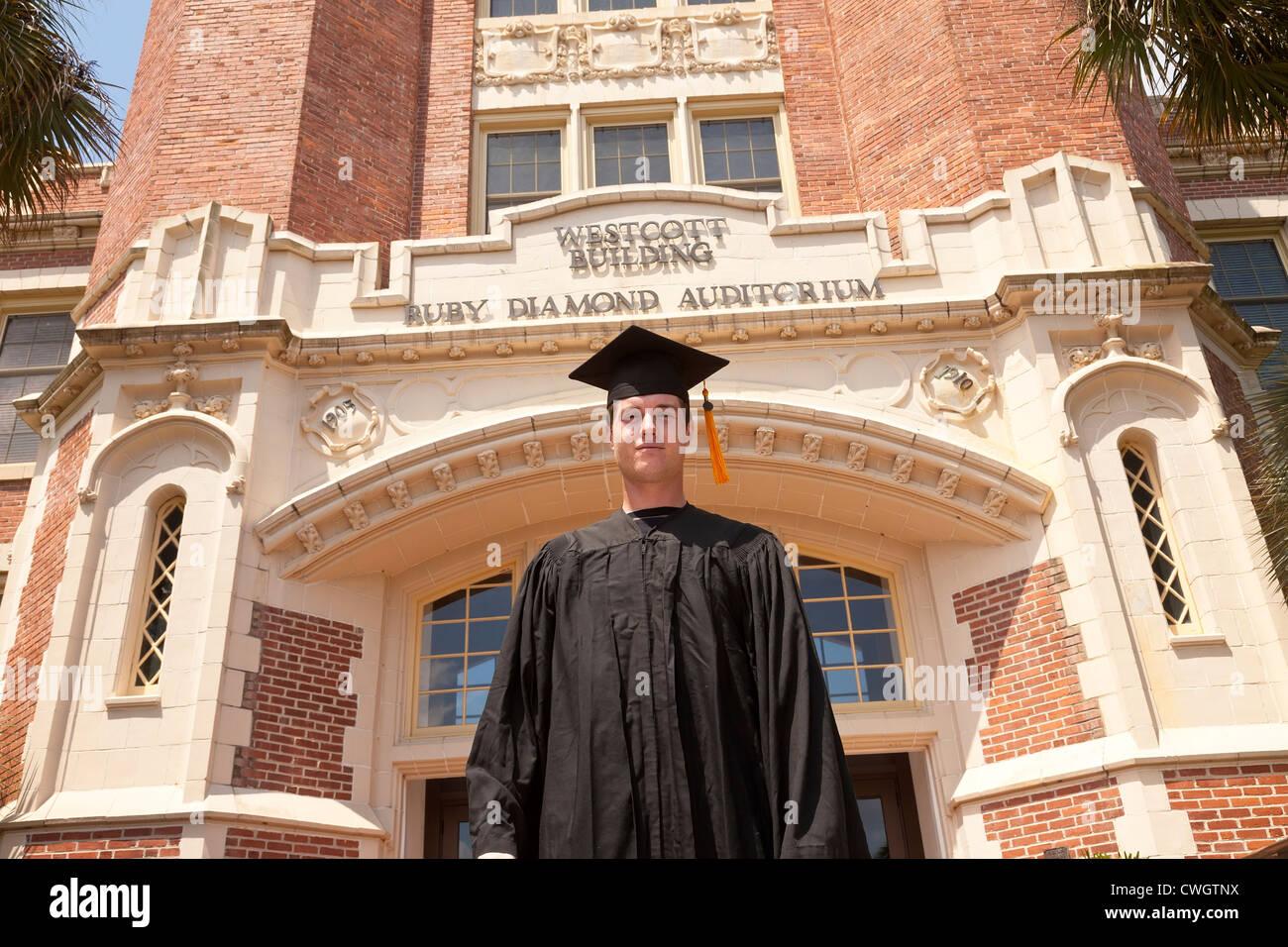 FSU Graduate - Stock Image