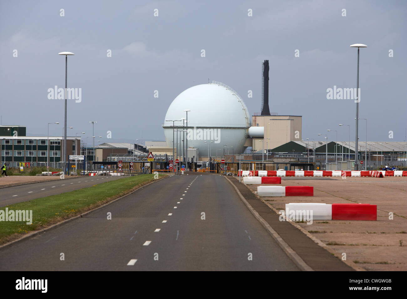 dounreay nuclear power development establishment Scotland, uk, united kingdom - Stock Image