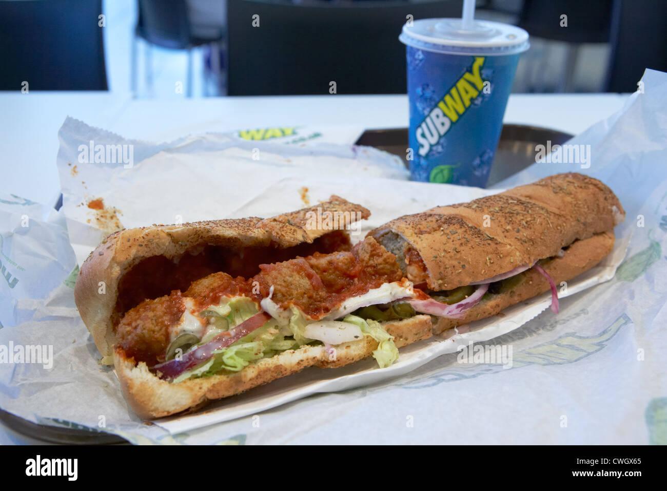 Subway Sandwich Stock Photos Subway Sandwich Stock Images Alamy