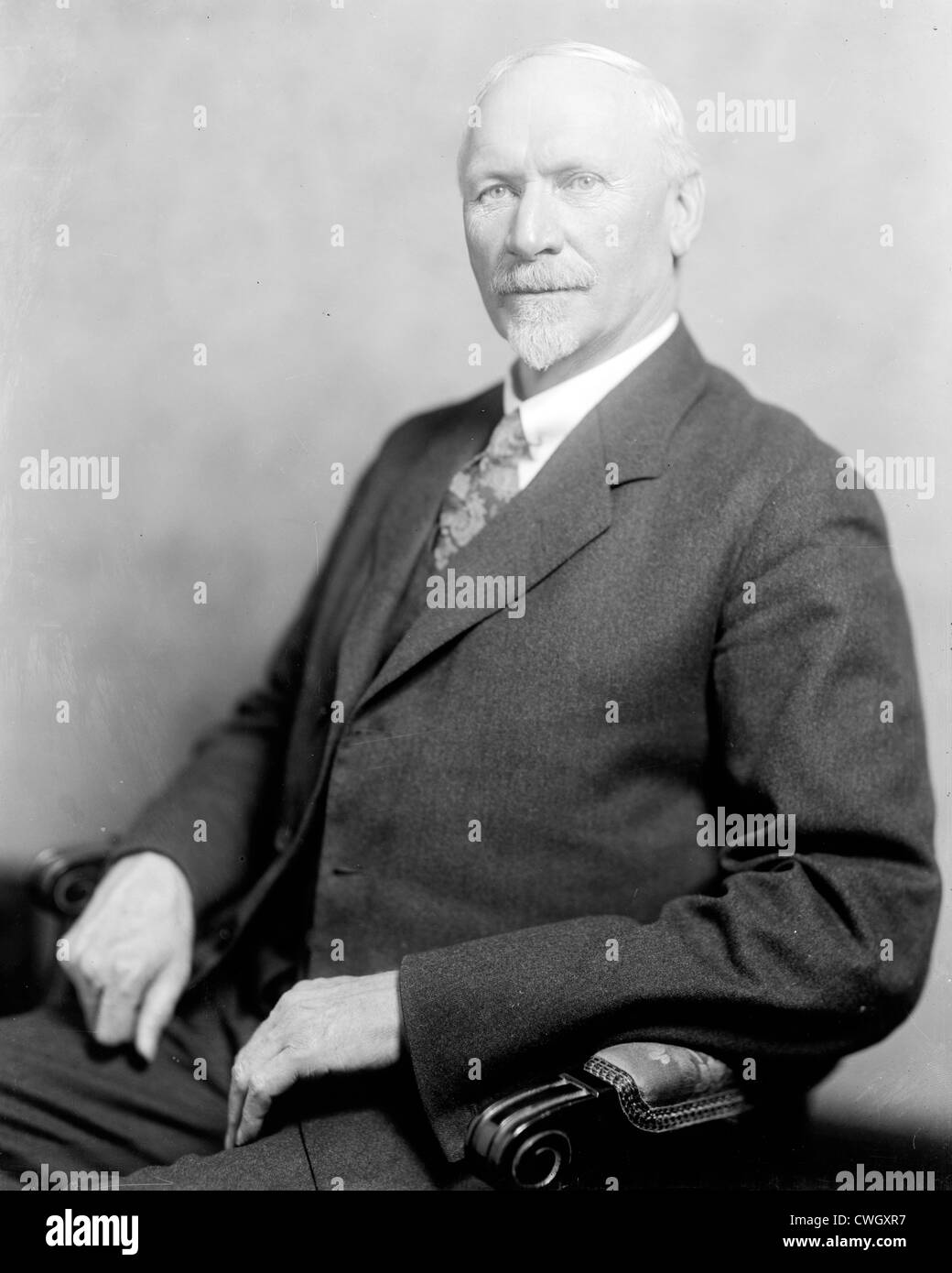 Jan Christiaan Smuts, prominent South African and British Commonwealth statesman, military leader and philosopher. - Stock Image