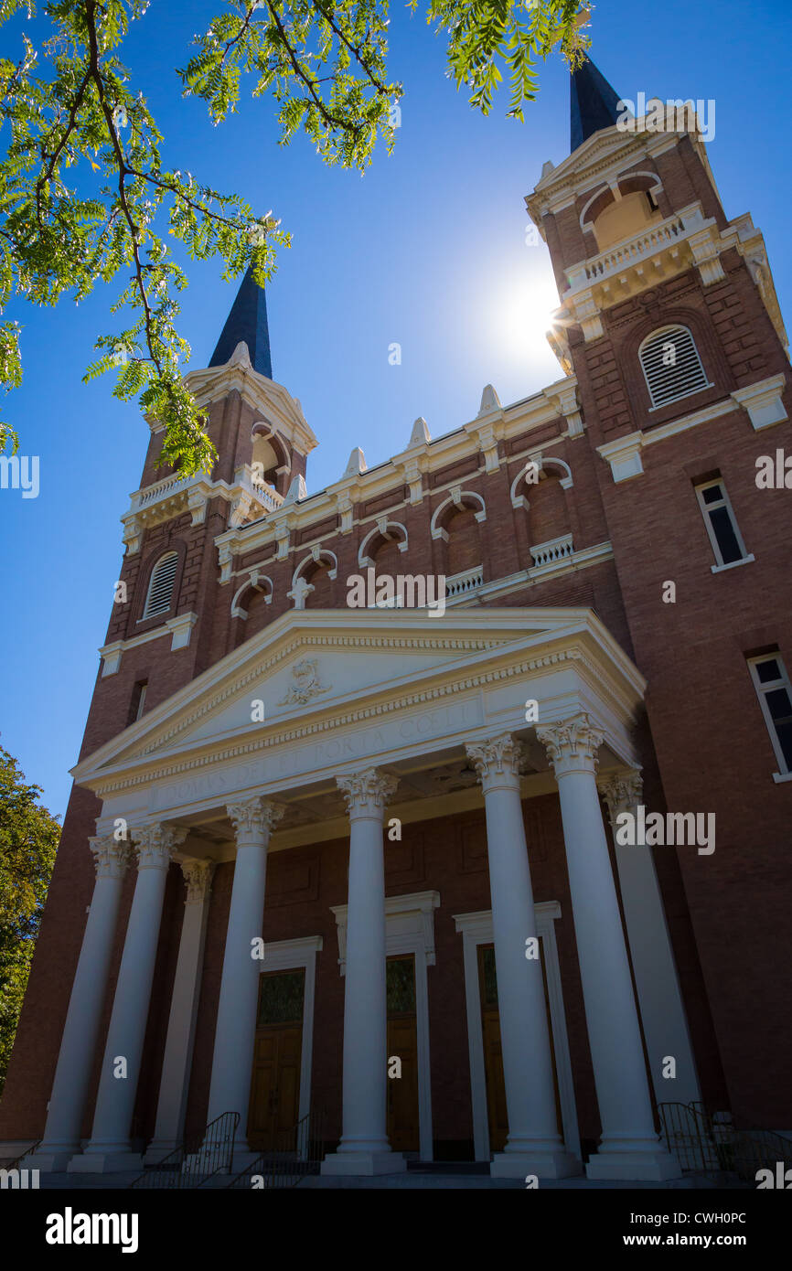 St Aloysius Church at Gonzaga University in Spokane, Washington state. - Stock Image