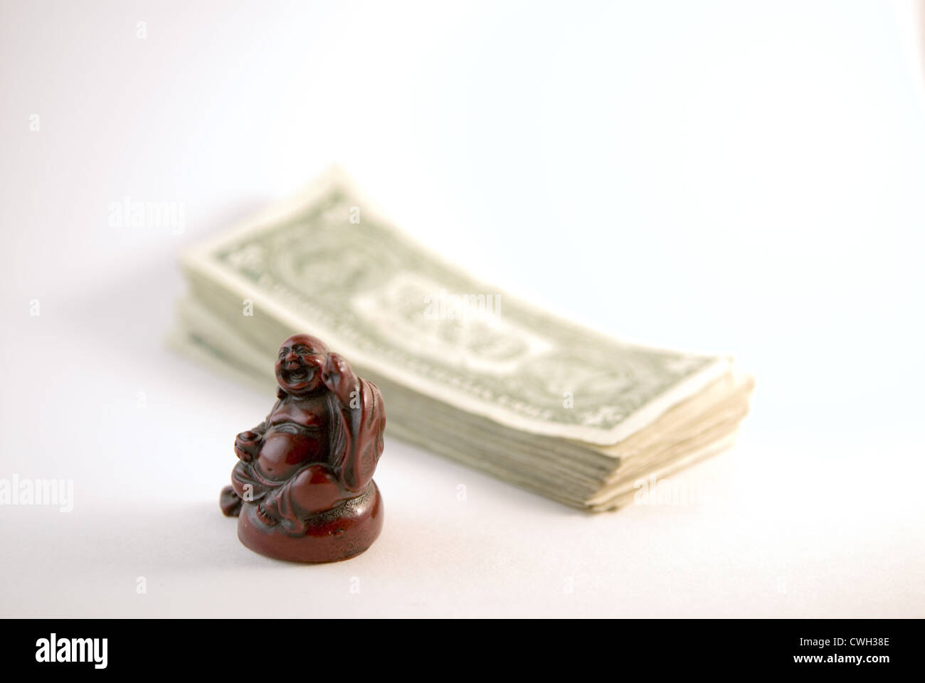 Buddha & MoneyStock Photo
