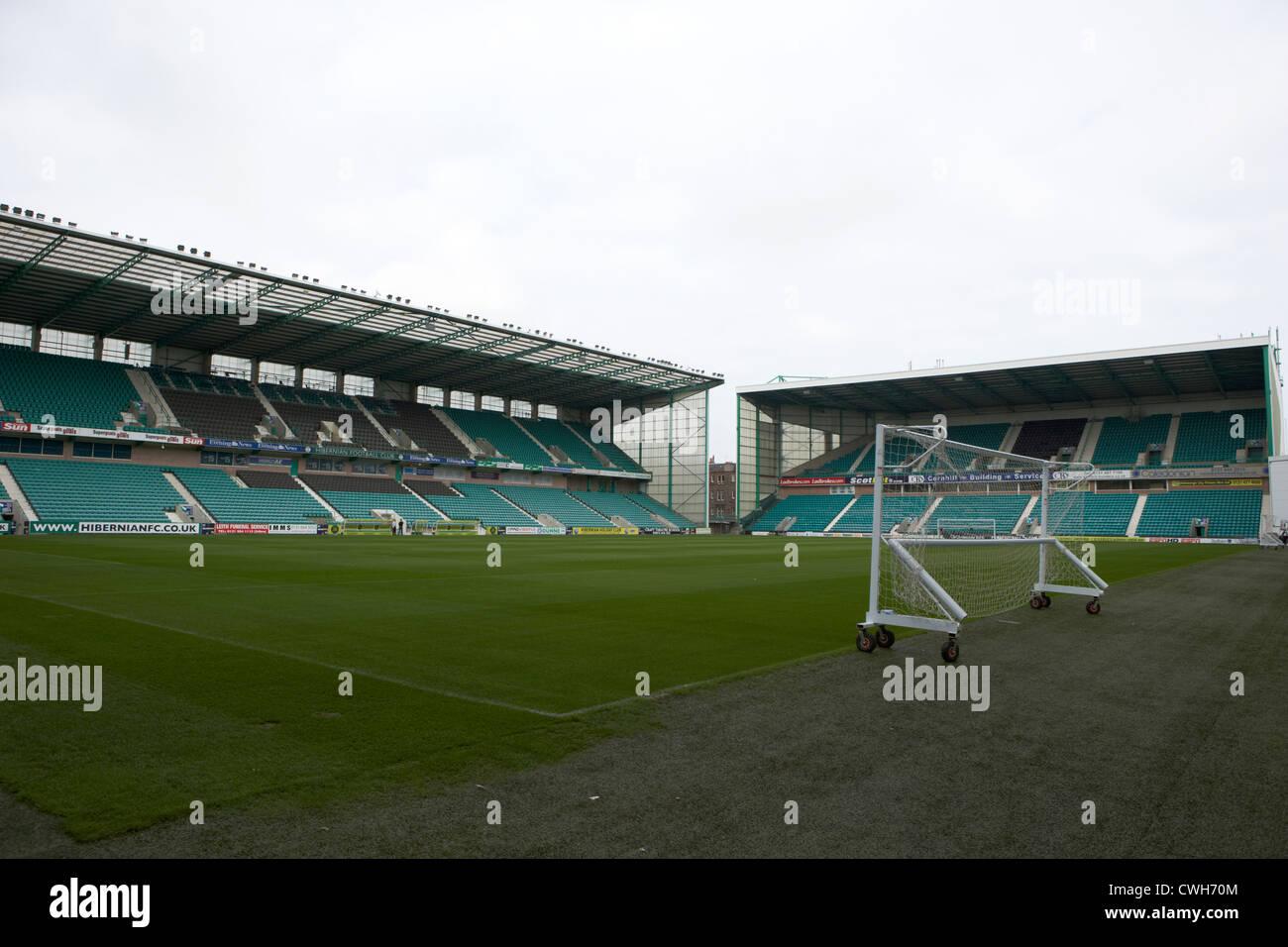 easter road football stadium hibernian football club edinburgh, scotland, uk, united kingdom - Stock Image