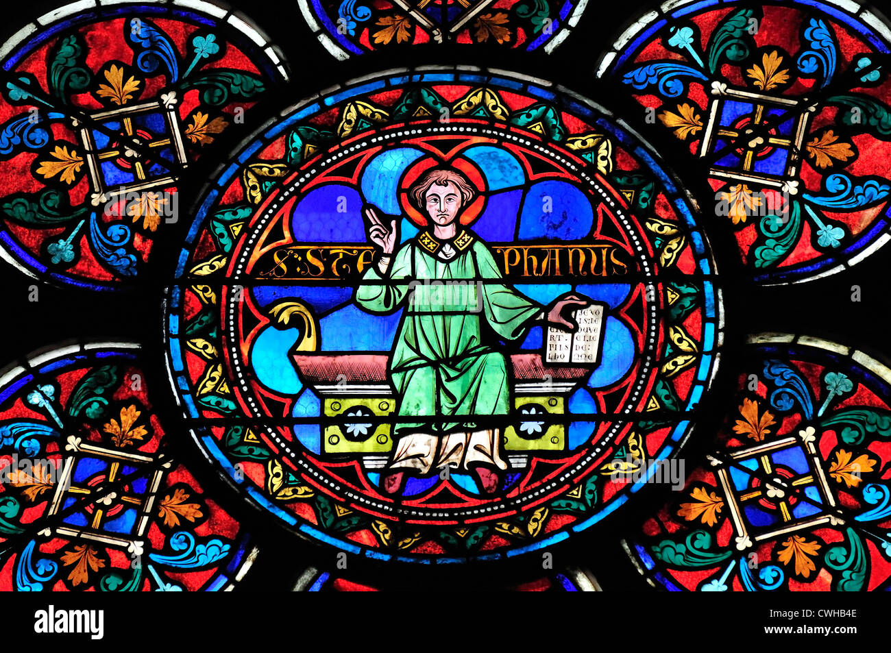 notre dame stained glass windows images