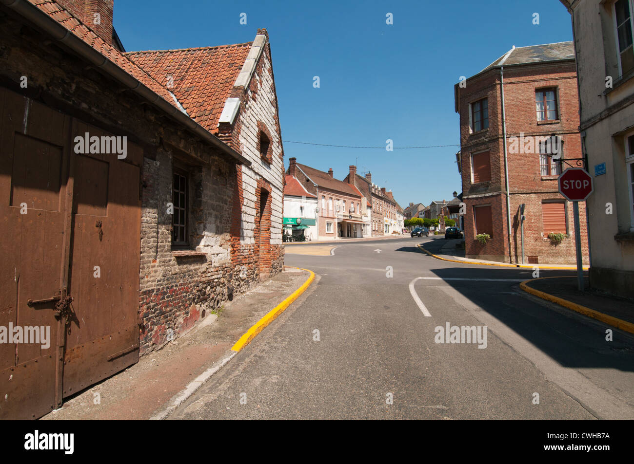 picardy village of noyelles sur mer france stock photo 50169150 alamy. Black Bedroom Furniture Sets. Home Design Ideas