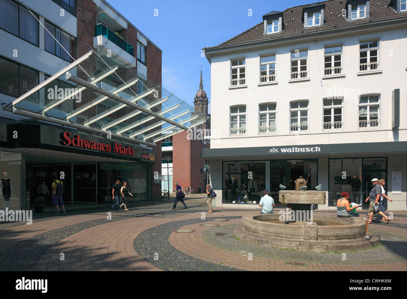 view of the city of krefeld stock photos view of the city of krefeld stock images alamy. Black Bedroom Furniture Sets. Home Design Ideas