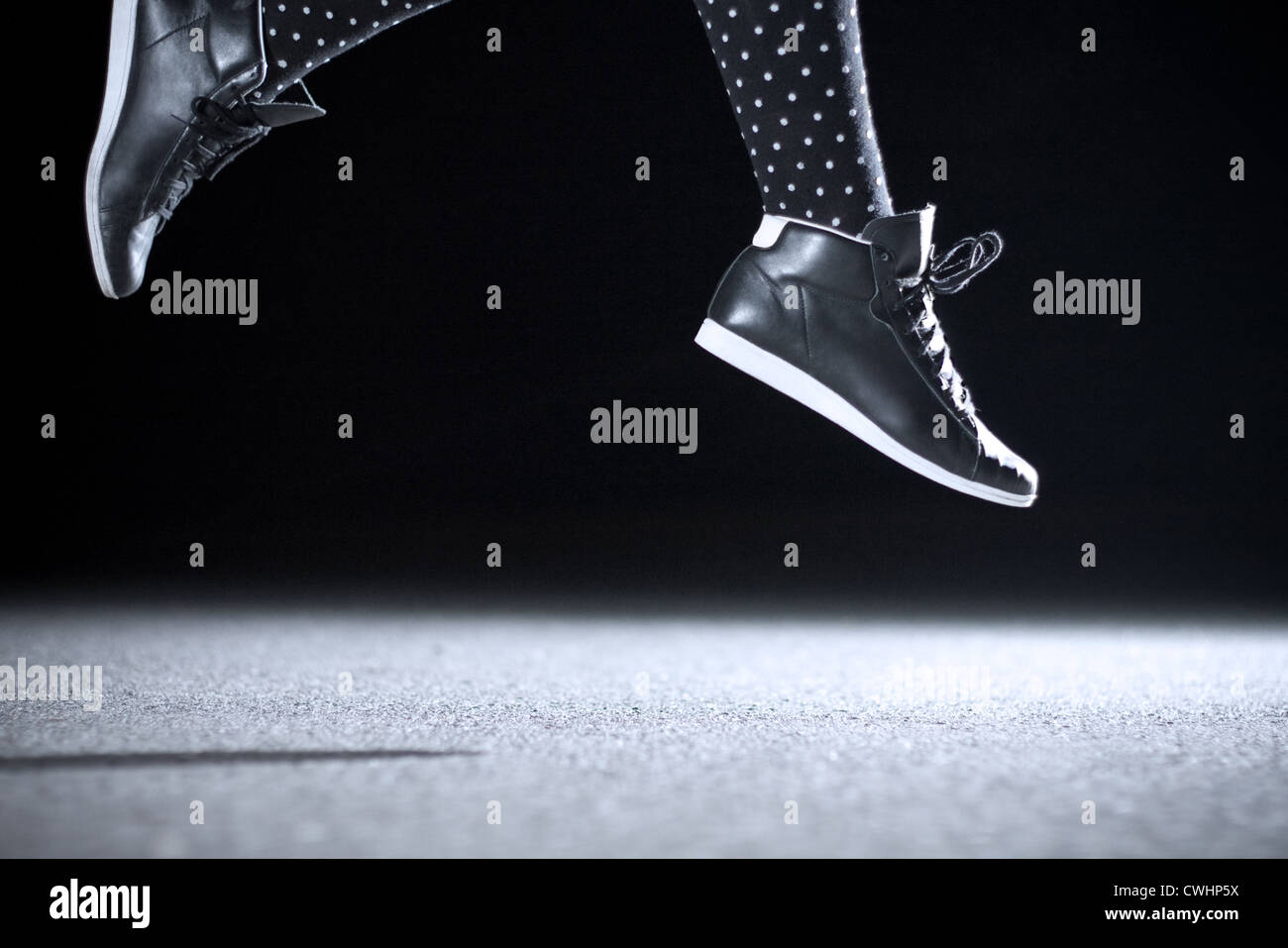 jump,youth culture,jumping,elated - Stock Image
