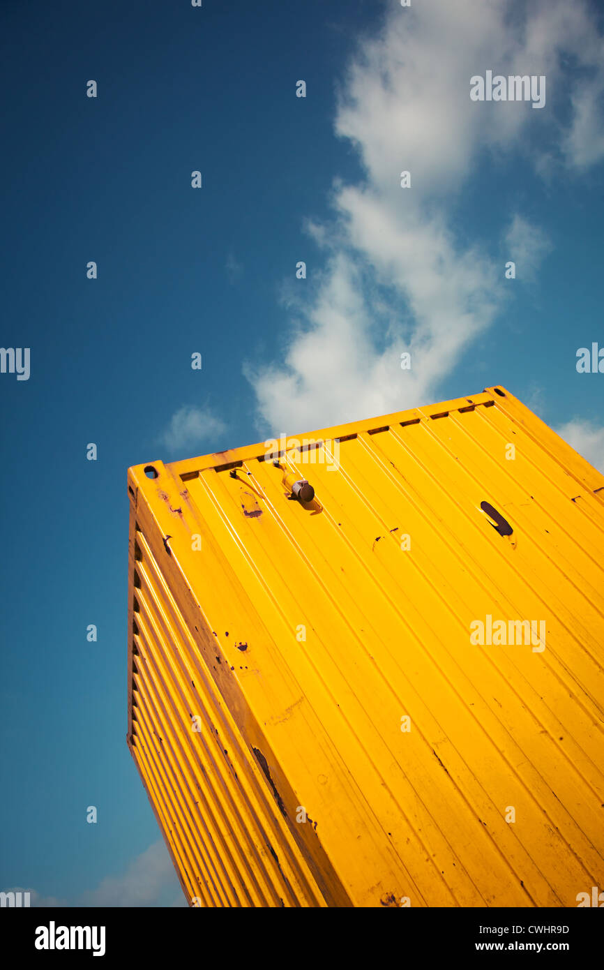 cargo container - Stock Image