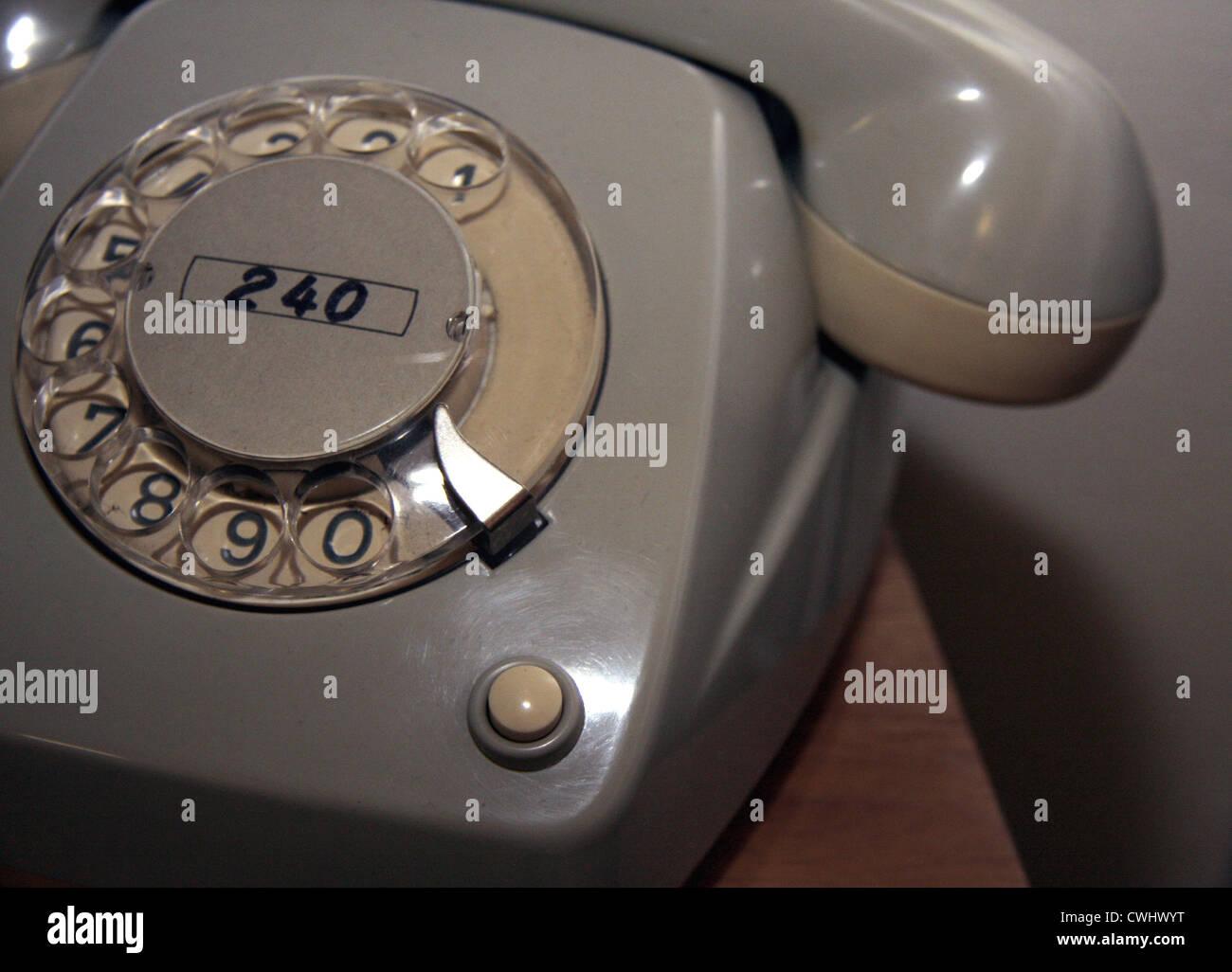 telephone,retro - Stock Image