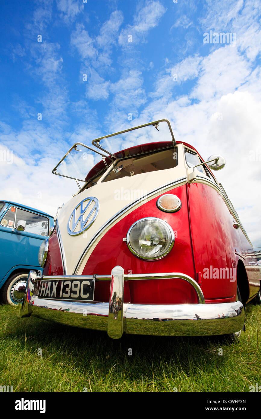 Volkswagen Camper van. - Stock Image