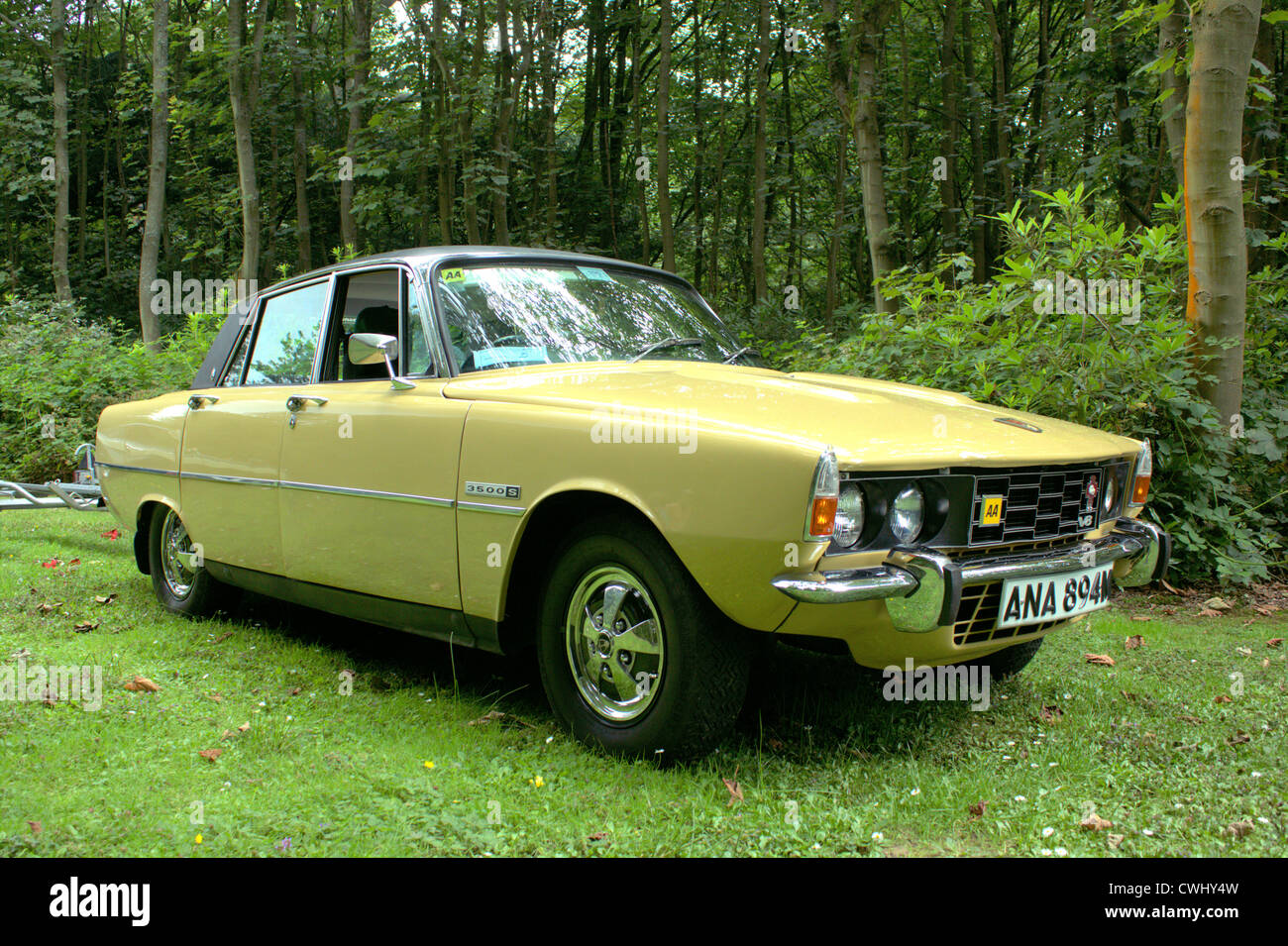 Rover 3500 at Lytham Hall - Stock Image