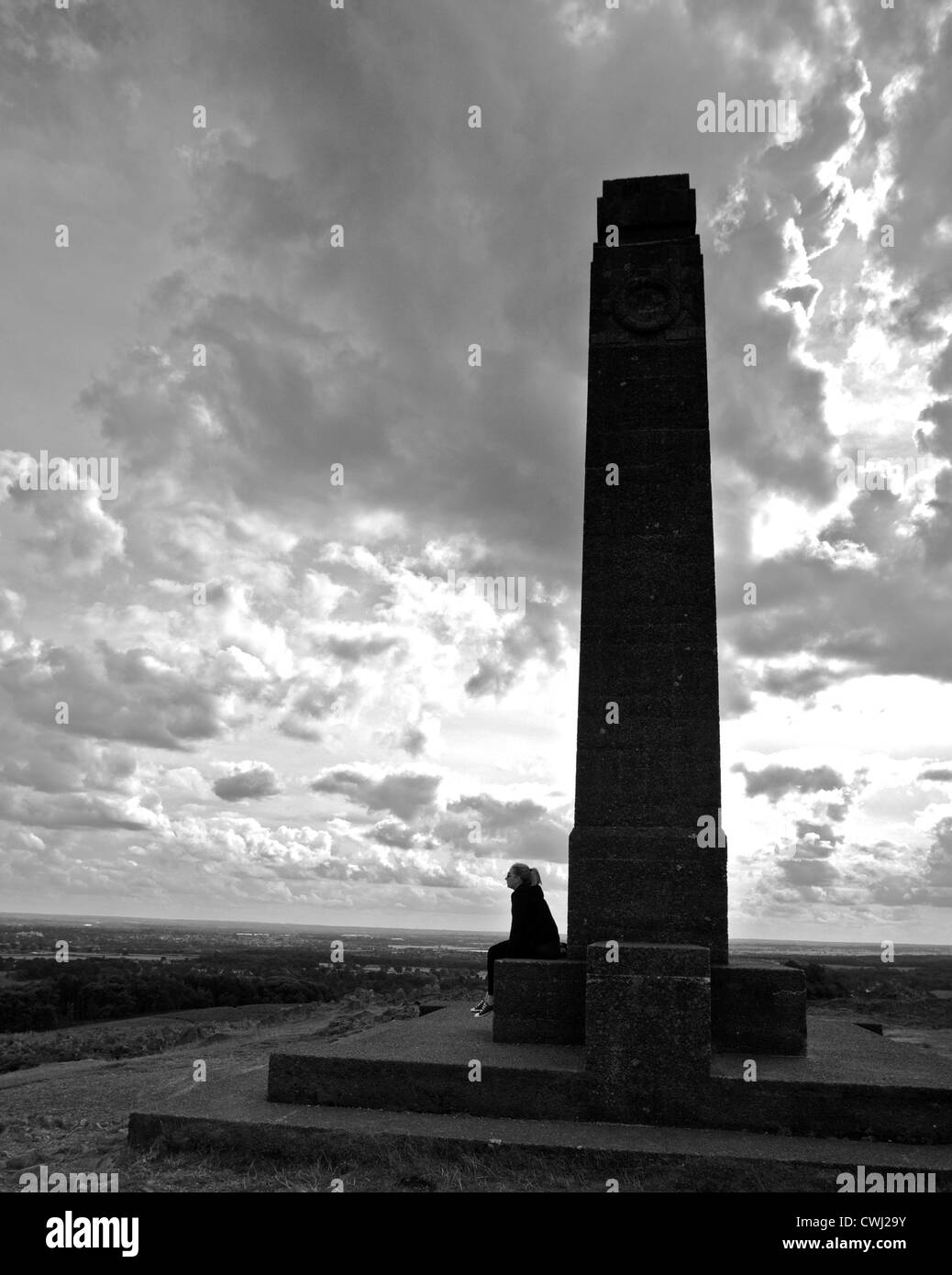 War memorial, Bradgate Park, Liecestershire - Stock Image