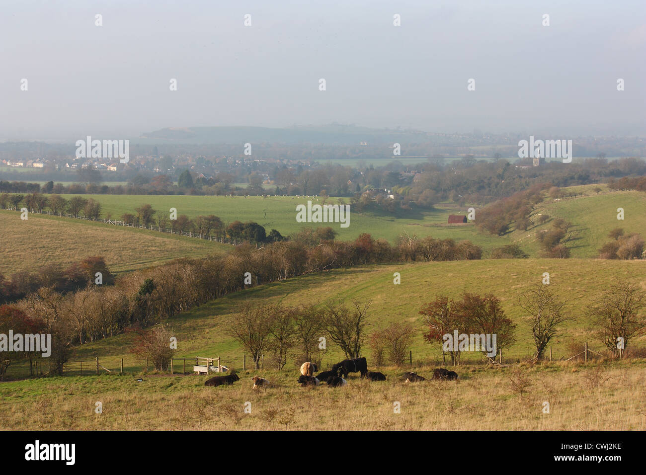 The Chilterns Stock Photo