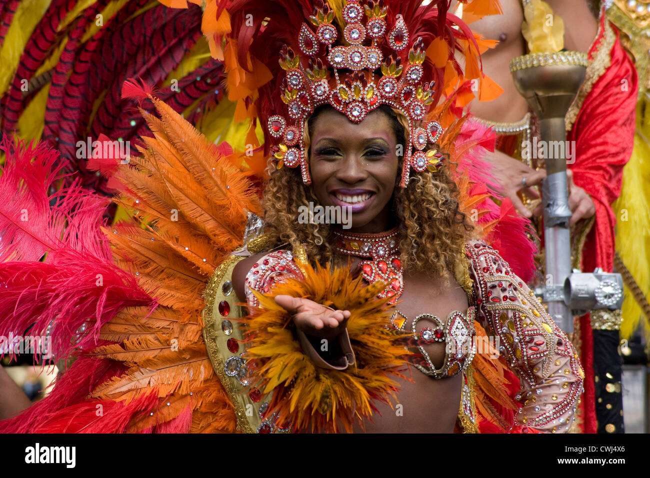 Nottinghill Carnival 2012 - Stock Image