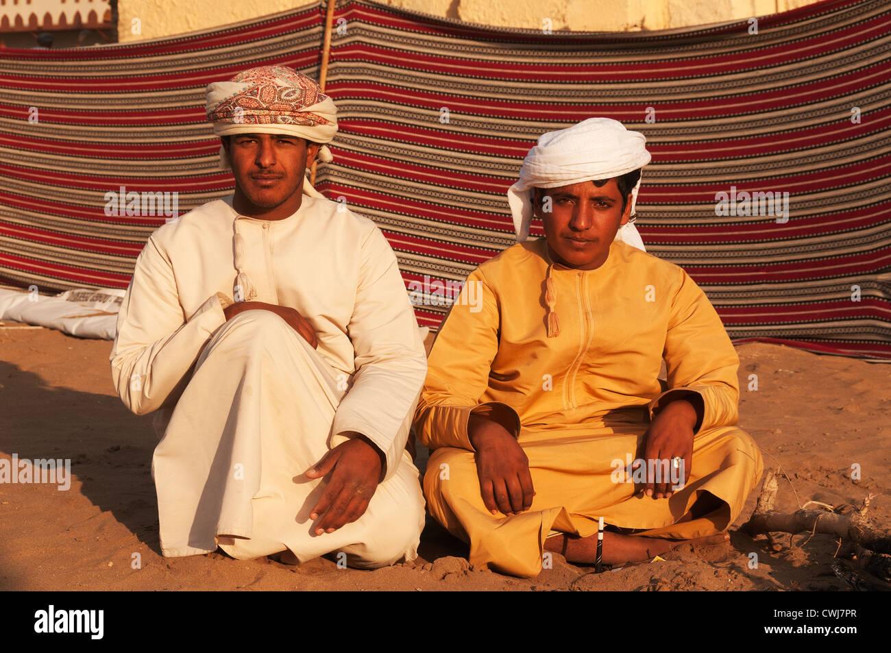 Elk207-1517 Oman, Muscat, Muscat Festival, portrait of Omani teen