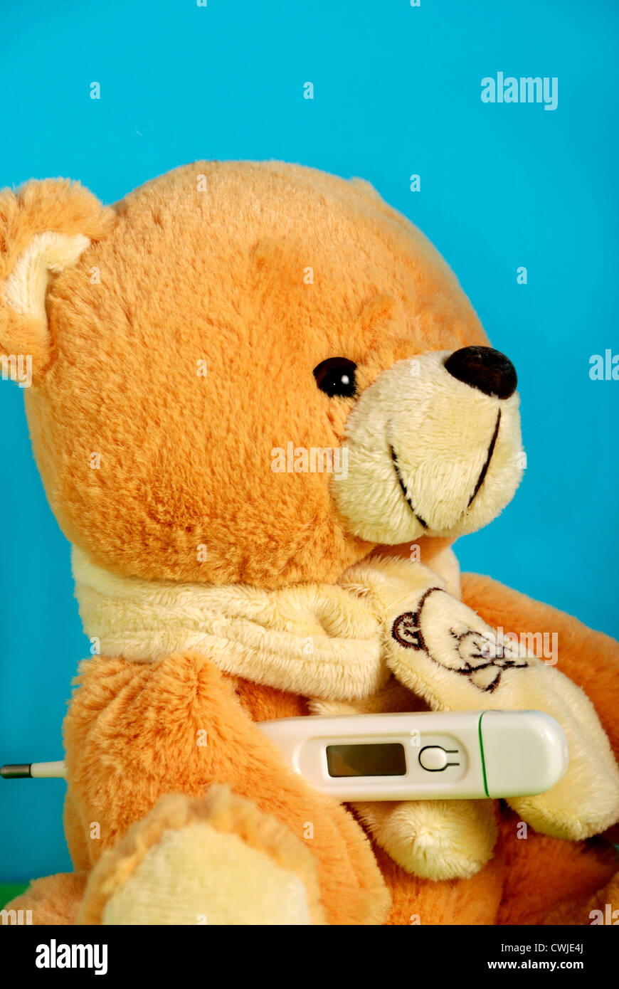 Child and Illness - Stock Image
