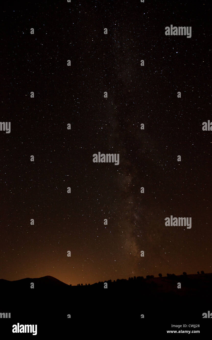 star field in Anatolia - Stock Image