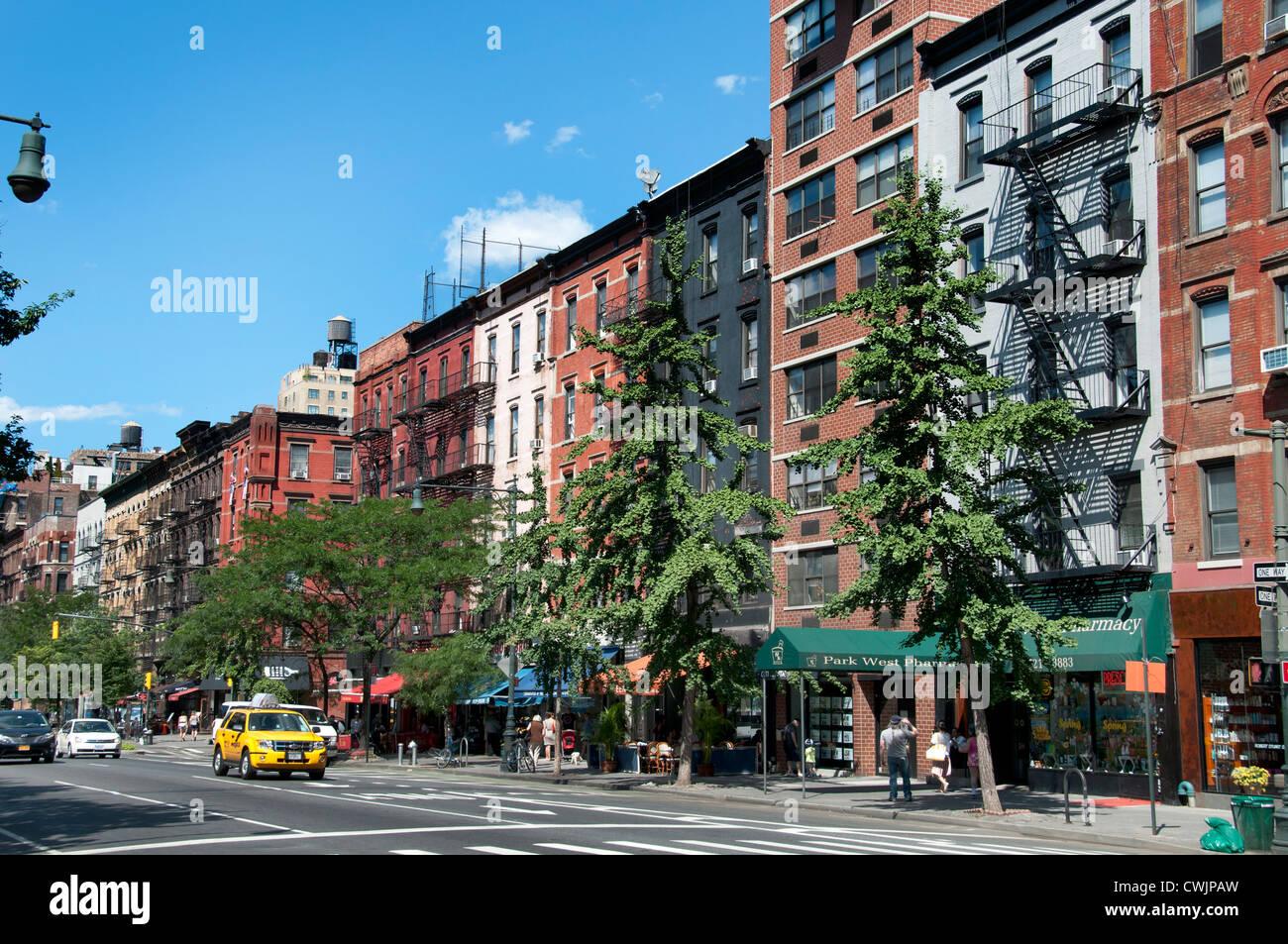 Restaurant Columbus Avenue Upper West Side New York City Manhattan