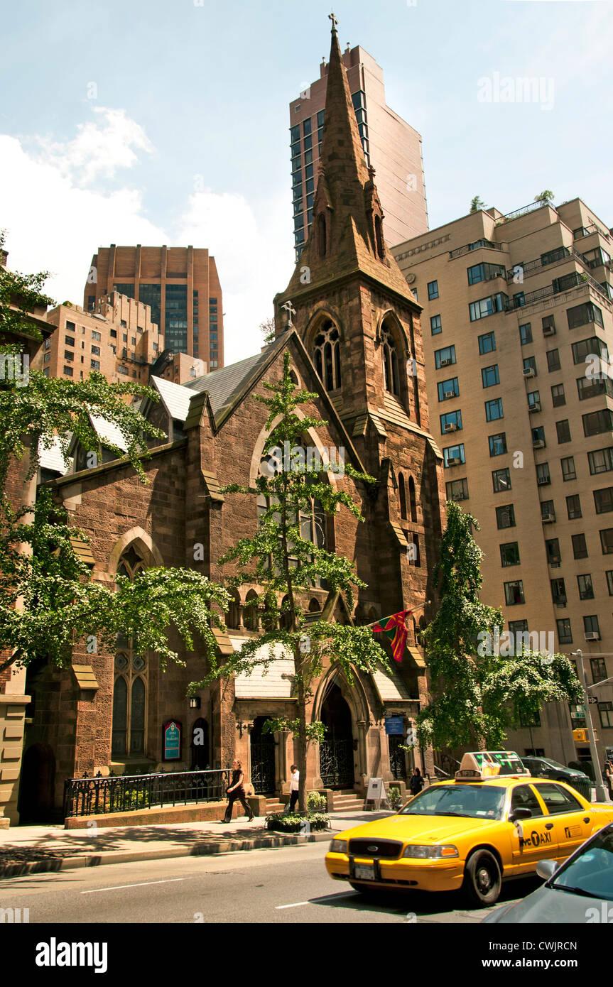Church of the Incarnation, 209 Madison Avenue, New York, NY - Stock Image