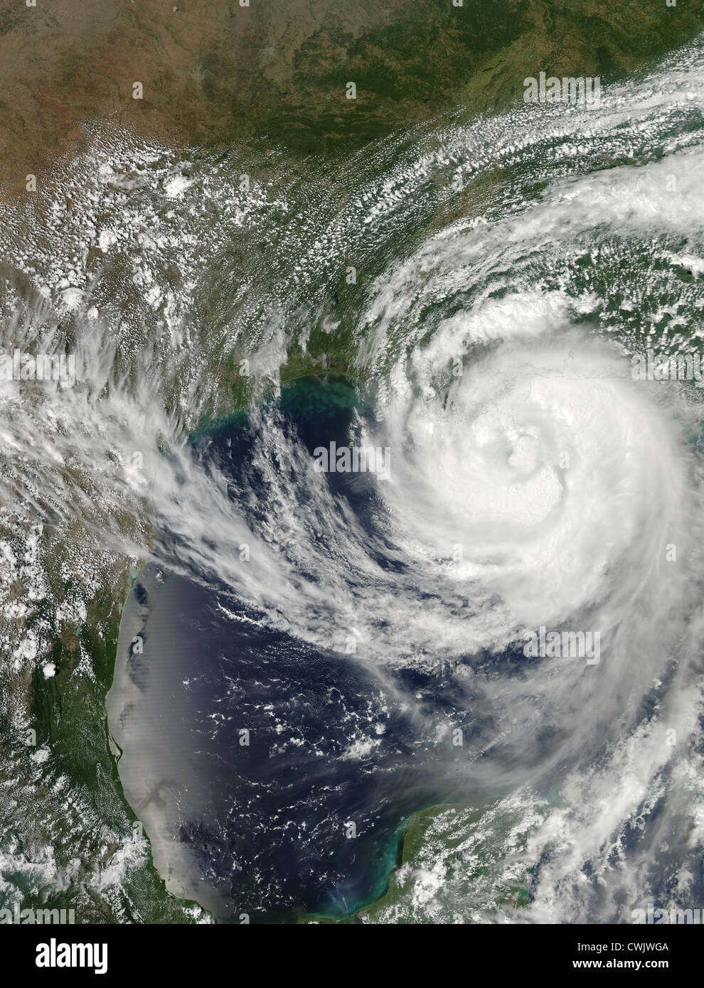 Hurricane Isaac - Stock Image