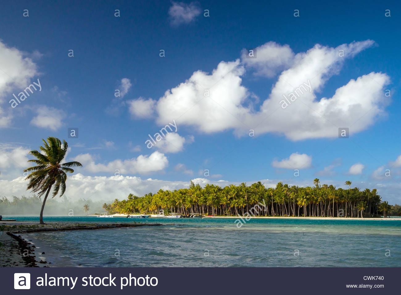 Bora Bora island (French Polynesia) Stock Photo