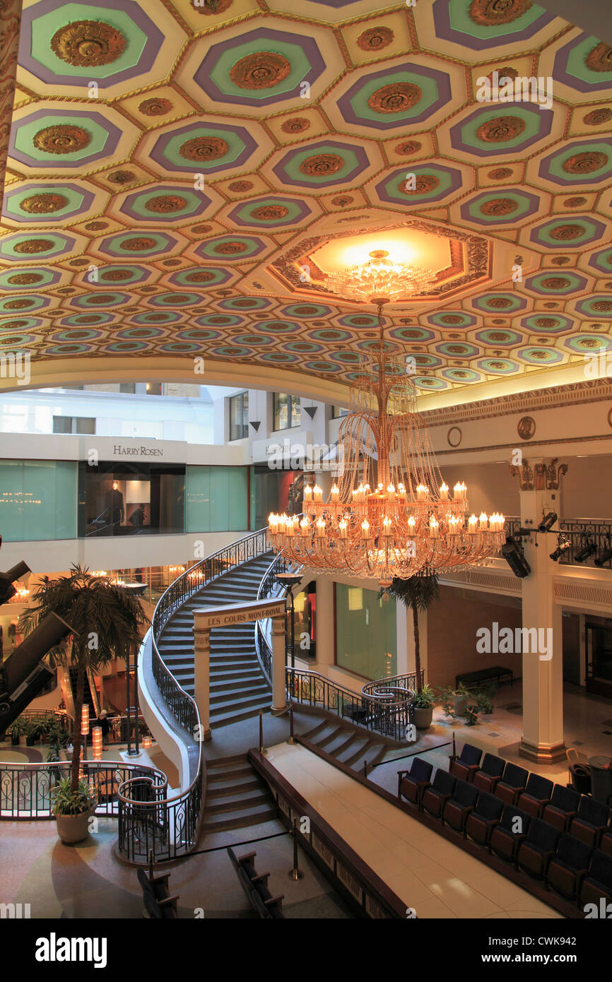 Canada, Quebec, Montreal, Les Cours Mont-Royal, shopping center, Stock Photo