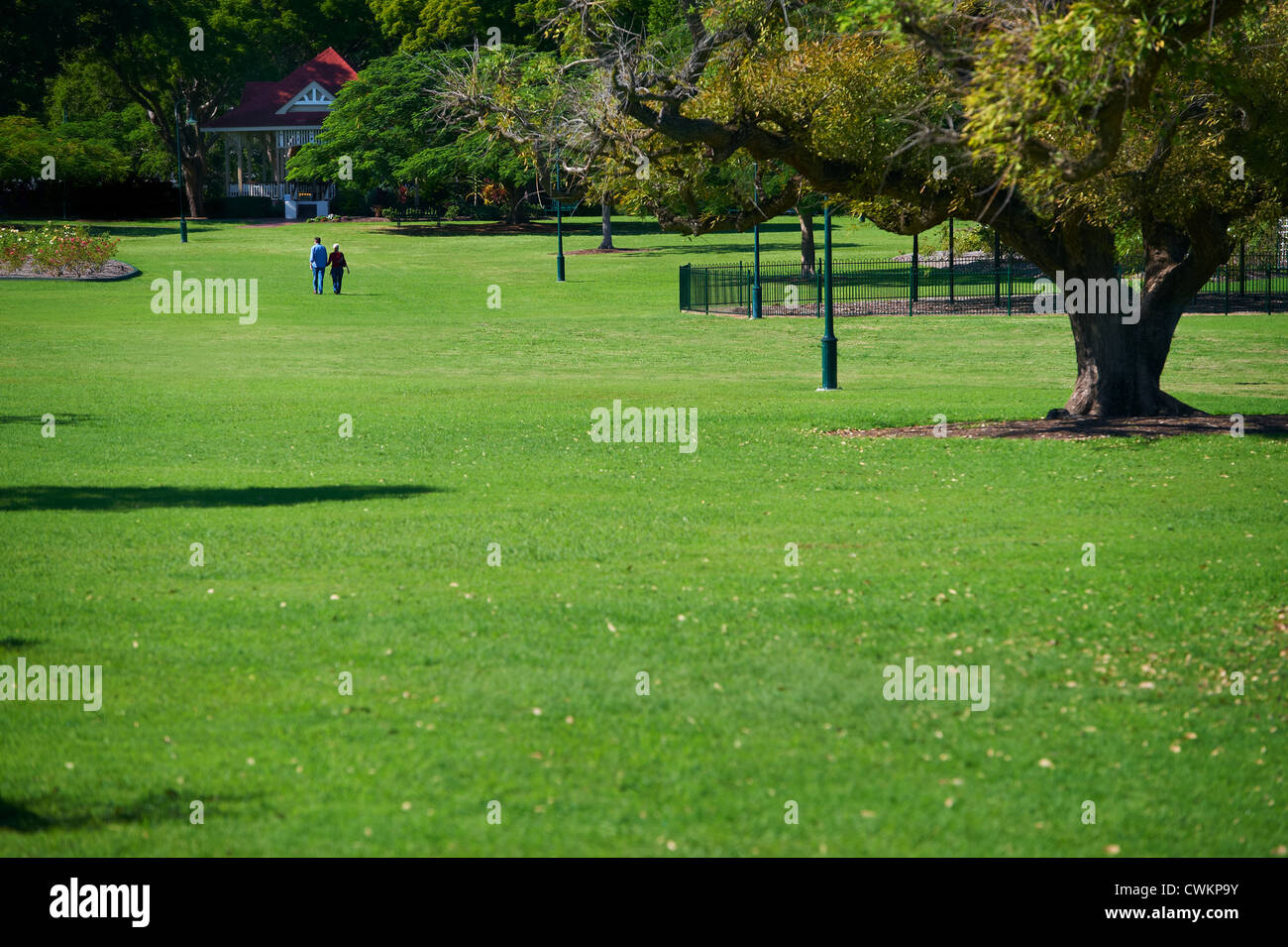 New Farm Park, Brisbane Queensland Australia - Stock Image