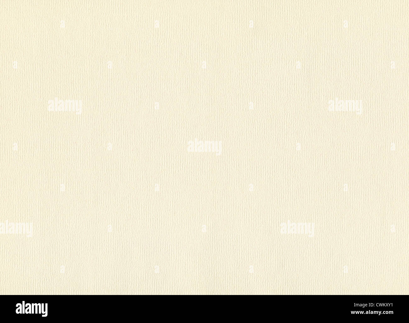 Watercolor paper texture, abstract blank beige material - Stock Image