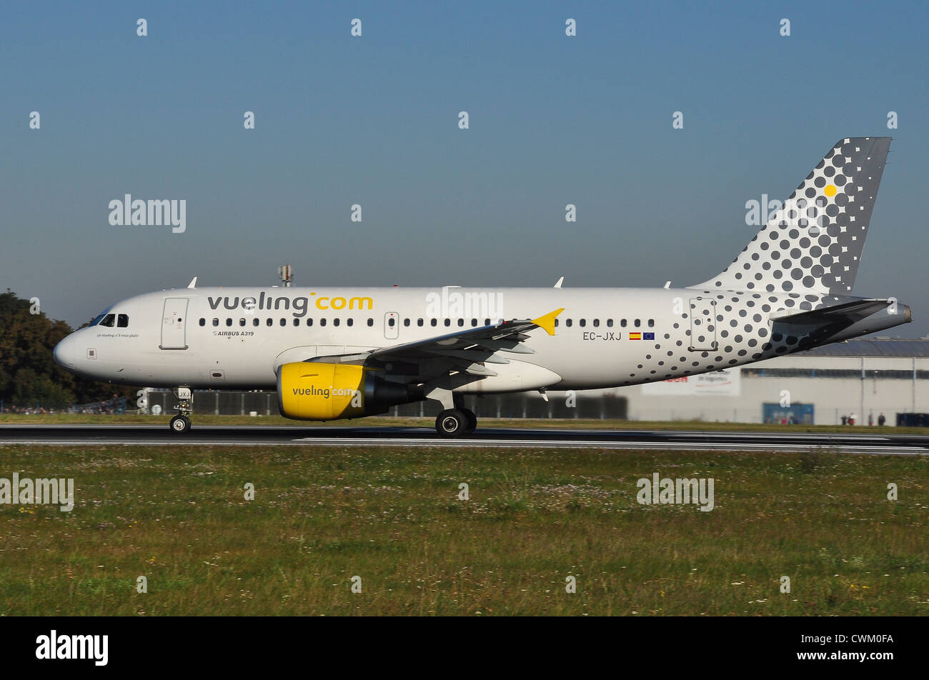 Airbus A319 Vueling Airlines - Stock Image