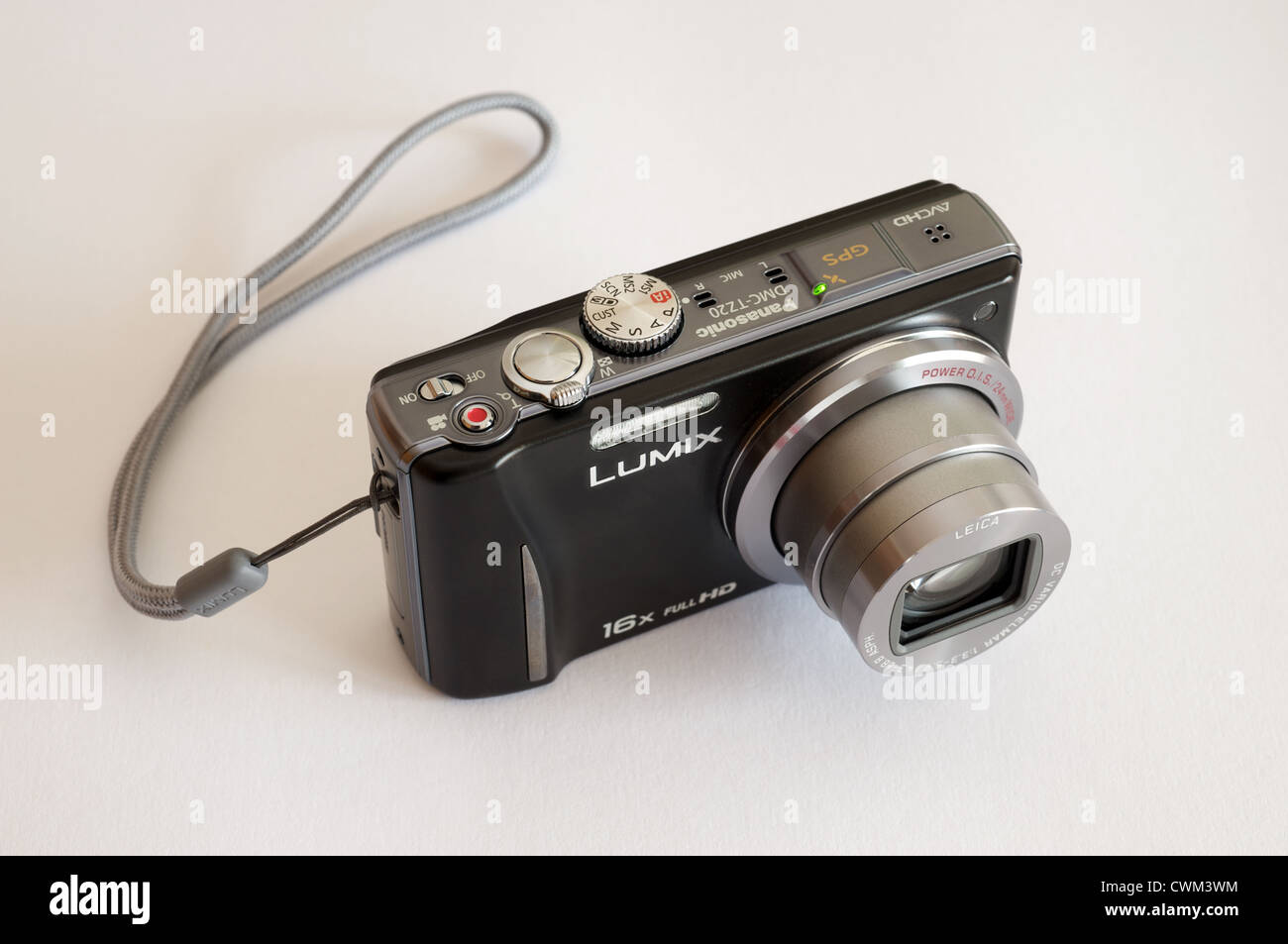 Panasonic Lumix TZ20 compact digital camera - Stock Image