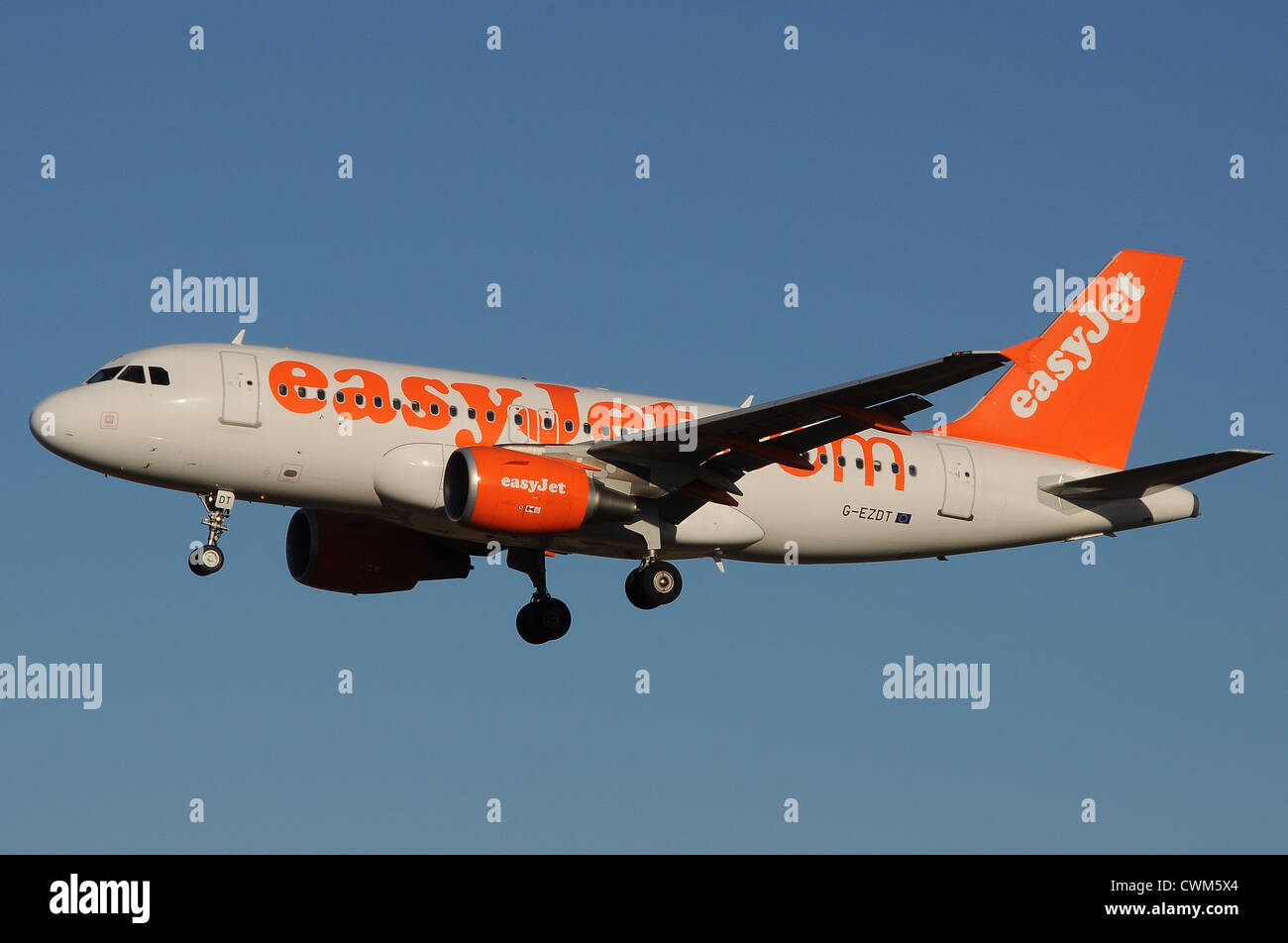 EasyJet  Airbus A319 - Stock Image