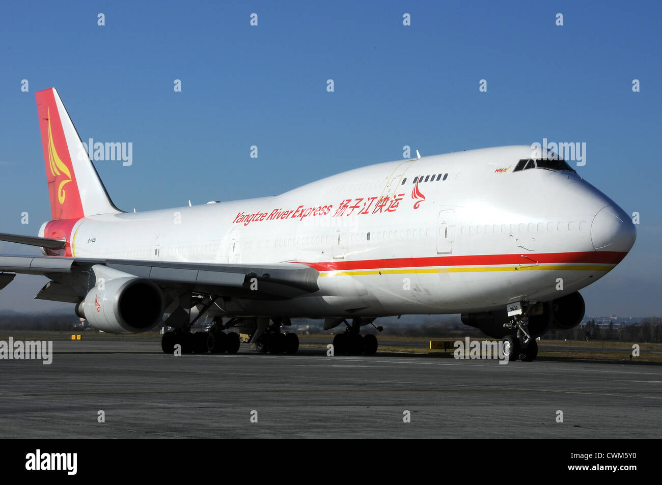 Boeing 747 - Cargo Version - Stock Image