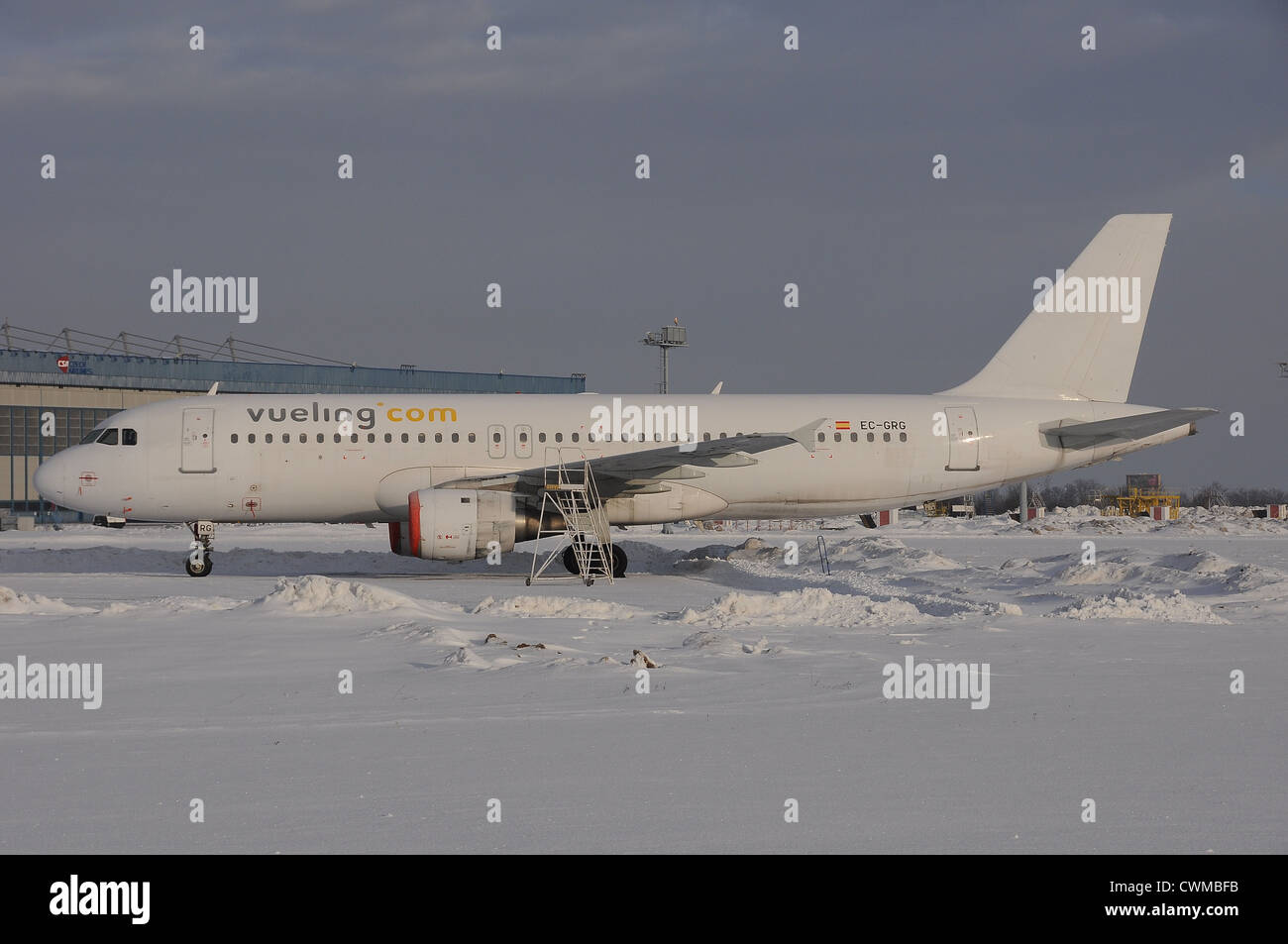 Vueling Airlines Airbus A320 - Stock Image