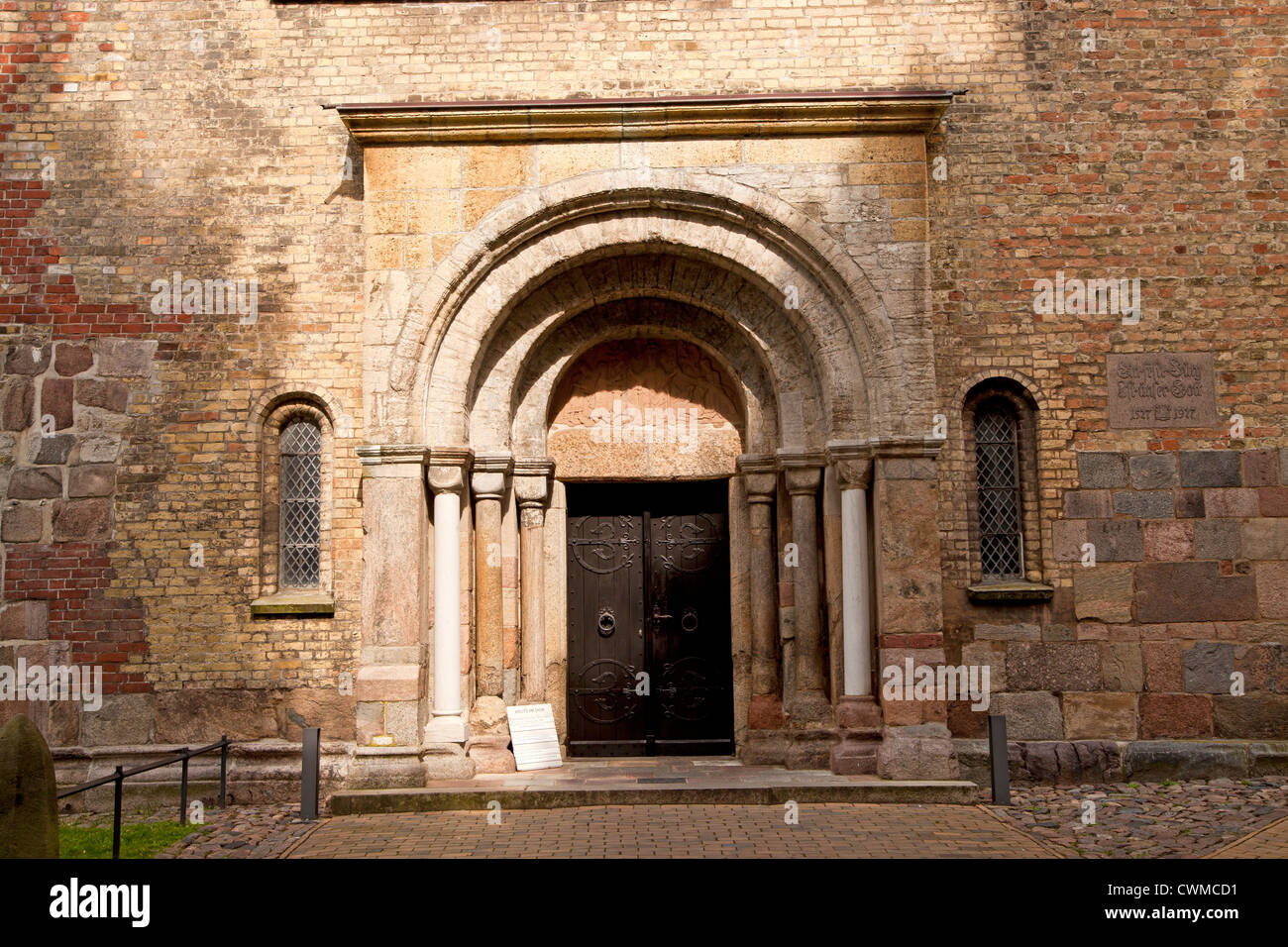 Petri-Gate of Schleswig Cathedral, Schleswig, Schleswig-Holstein, Germany, Europe Stock Photo