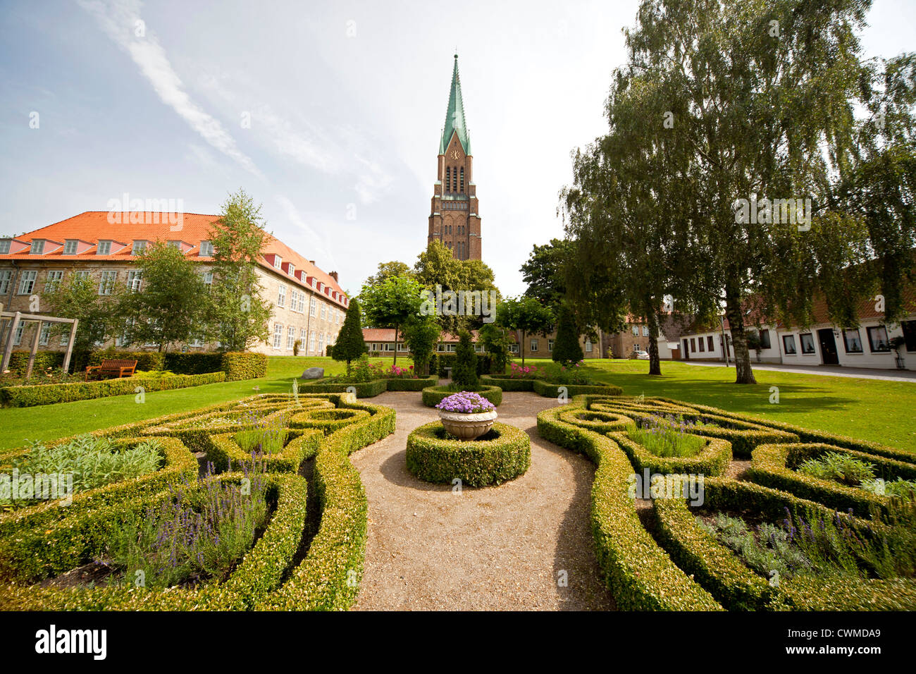 Schleswig Cathedral, Schleswig, Schleswig-Holstein, Germany, Europe - Stock Image
