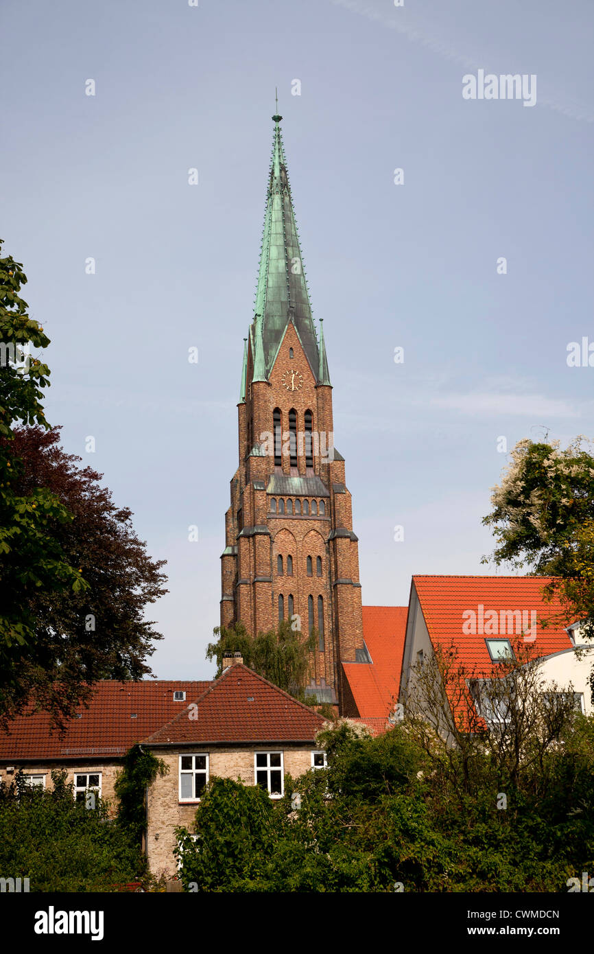 Schleswig Cathedral, Schleswig, Schleswig-Holstein, Germany, Europe - Stock Image