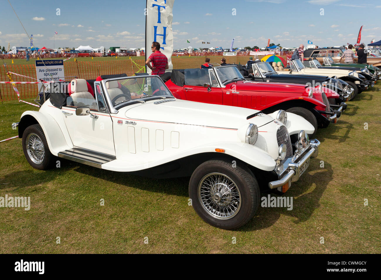 Panther Kallista car at a show in the UK - Stock Image