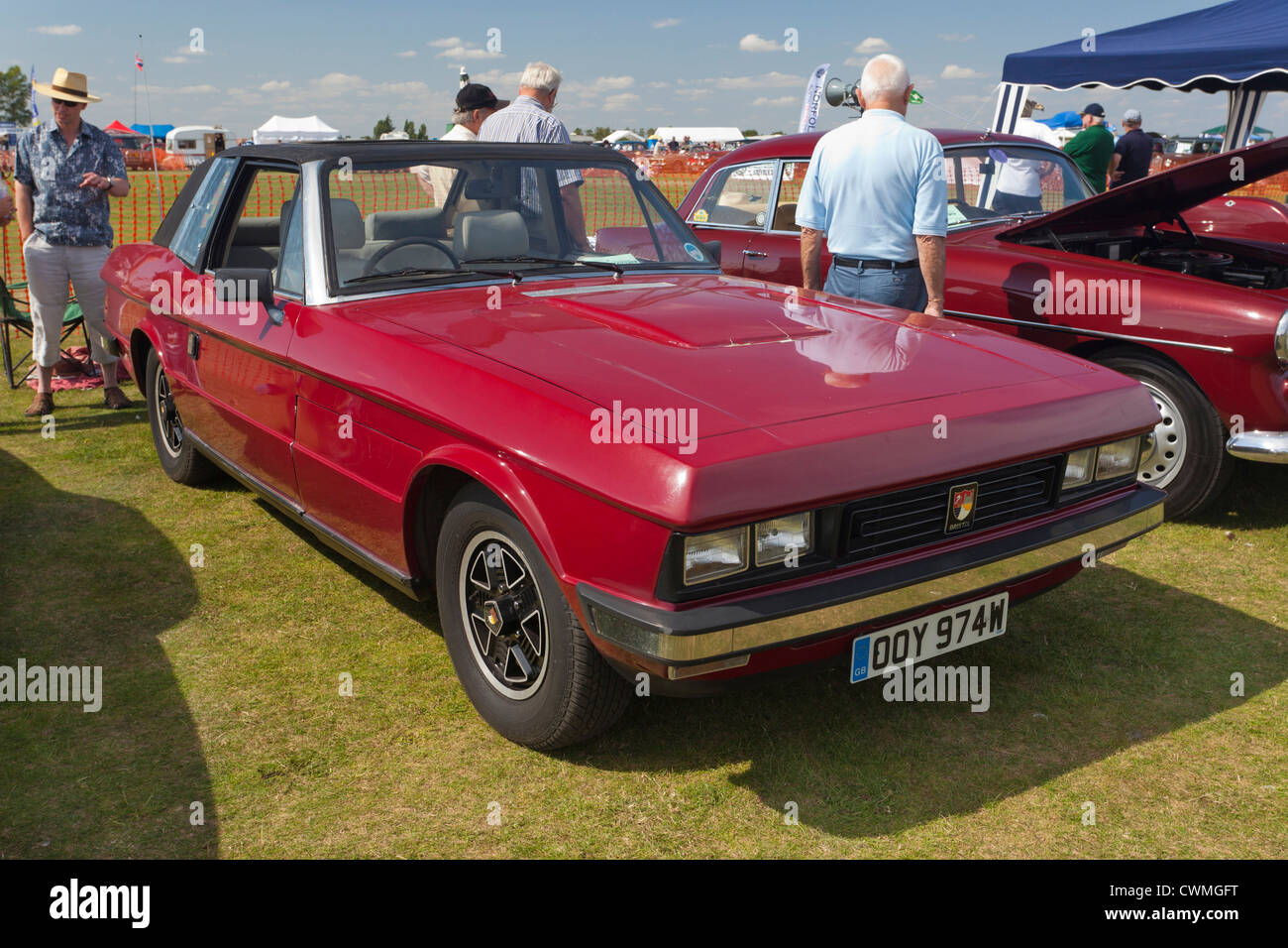 Bristol 412 Beaufighter car at a show in the UK - Stock Image