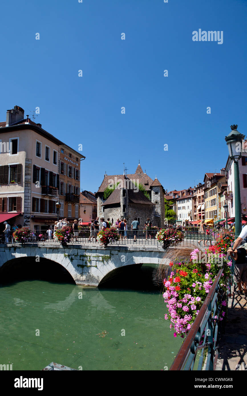 Annecy, Savoie, Rhone Alps, France. Old town - Stock Image