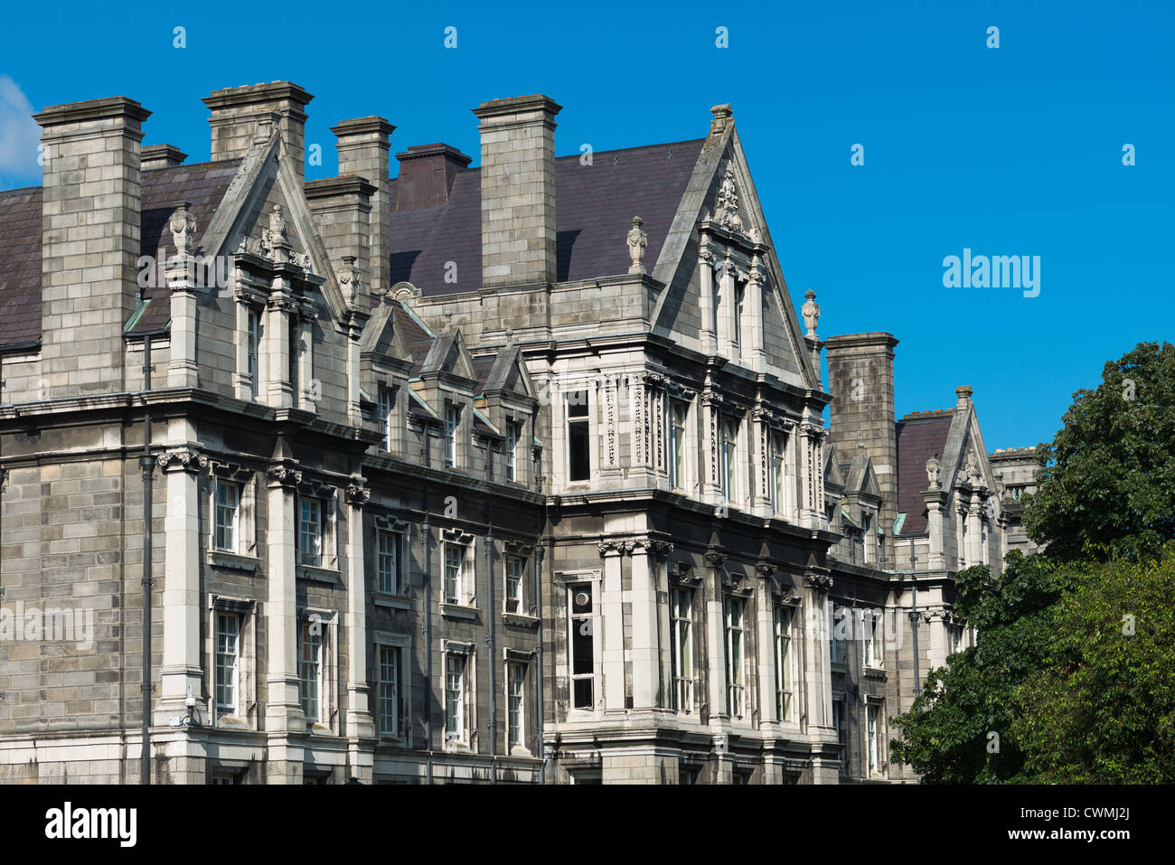Trinity College, Dublin, County Dublin, Republic of Ireland. Stock Photo