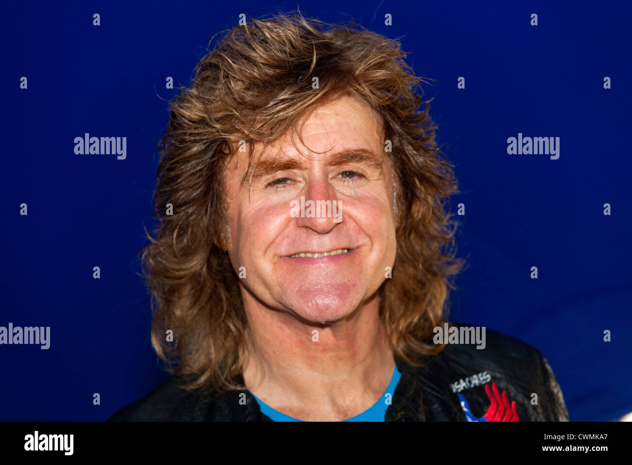 Singer John Parr at the Rewind Festival Henley on Thames 2012. PER0312 - Stock Image