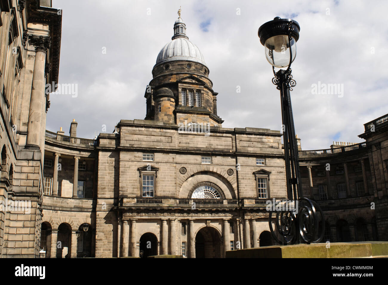 University of Edinburgh, Old College building and dome, Edinburgh. - Stock Image