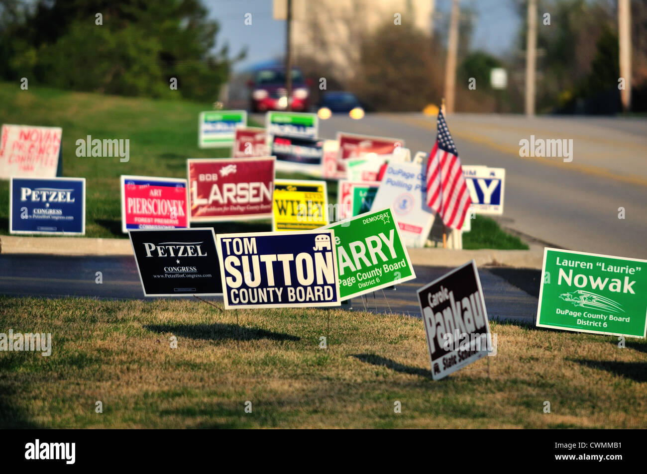 Political Yard Signs Illinois