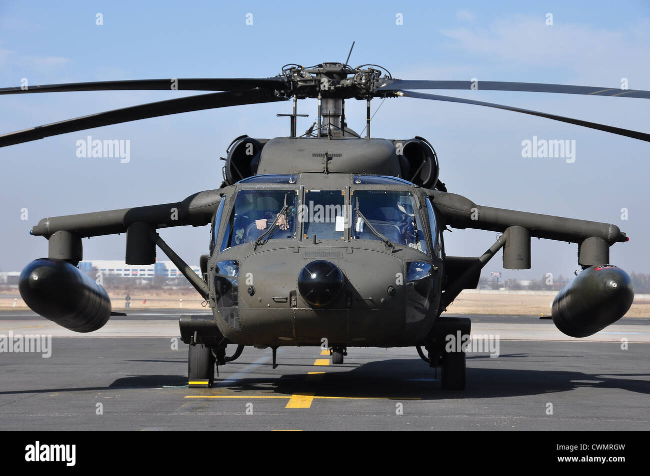Sikorsky UH-60A(C) Black Hawk Stock Photo