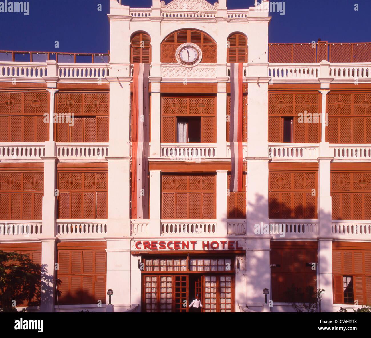 Yemen, Aden, Crescent Hotel - Stock Image