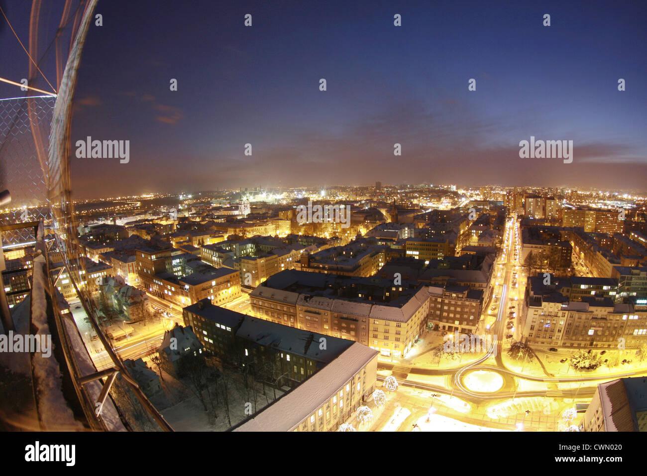 Night Ostrava - Stock Image