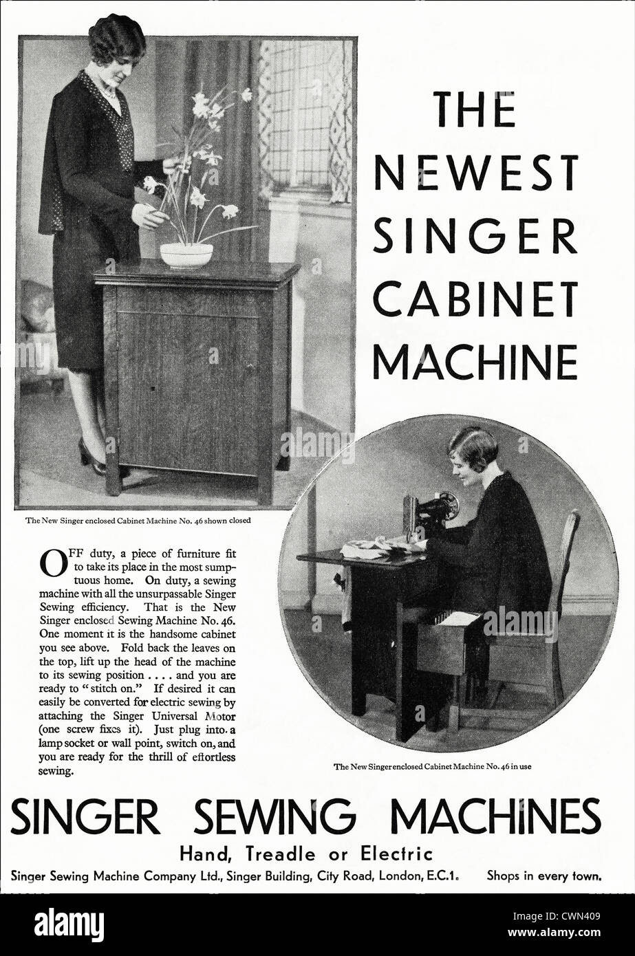 Agree, this Singer sewing vintage ads