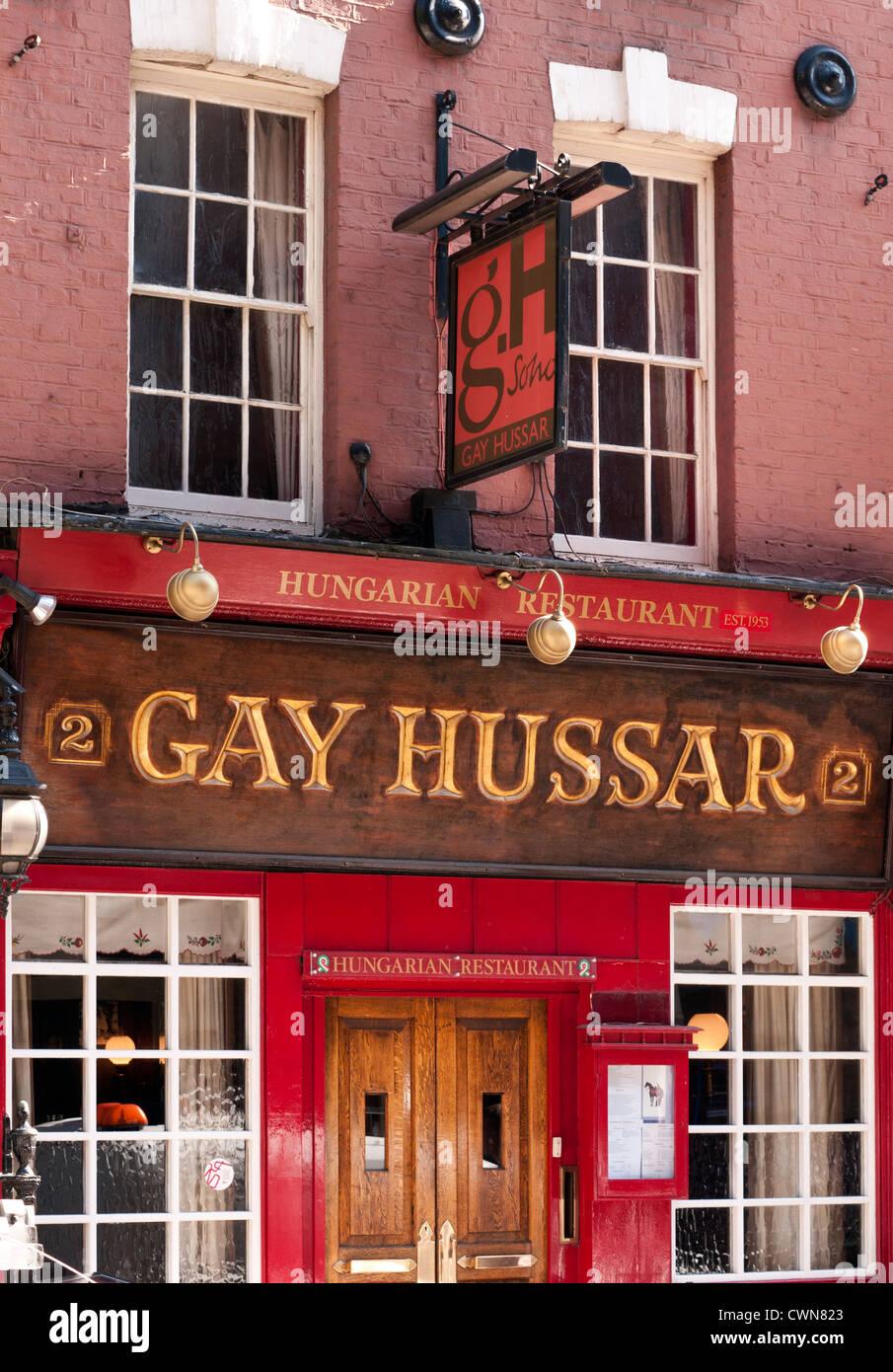 from Julius gay hussar restaurant london